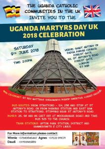 Ugandan Matyrs